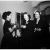 John Tracy Clinic celebrates silver tea, 1951