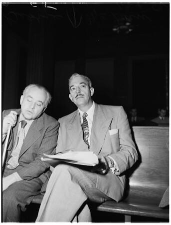 Social welfare meeting, 1952