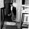 Storm damage...1300-1600 Dodson Avenue, San Pedro, 1952