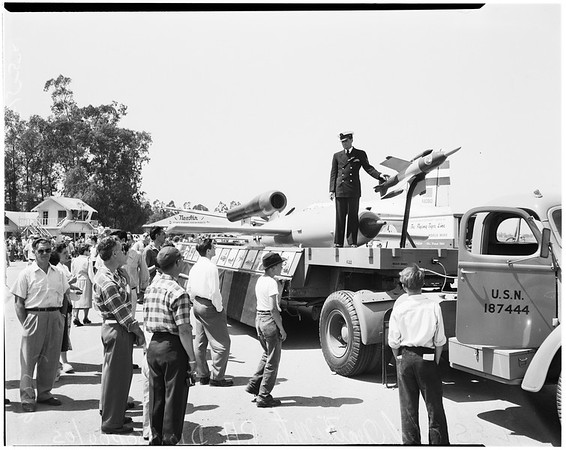 Airport open house (Van Nuys) San Fernando Valley, 1952