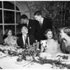 Pasadena cotillion dinner dance ...Huntington Hotel, 1951