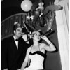 Pan American Junior League holds New Year's dance, 1951