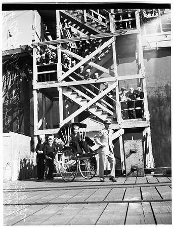 Ricksha Blood Bank (United States Navy Tanker gives 107 quarts), Passumpic, 1952