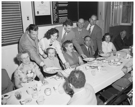 Monterey Park clean-up, paint-up, fix-up kickoff luncheon, 1952
