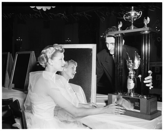 Hair stylist, 1952.