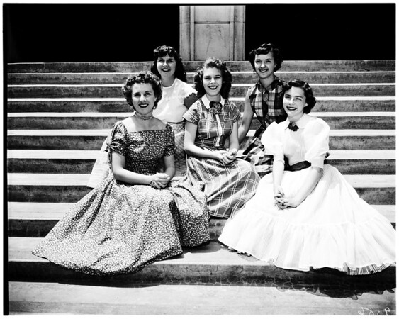 All states queen candidates, 1952