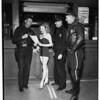 Model's wardrobe is stolen, 1952