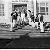 San Pedro schools close because of storm, 1952