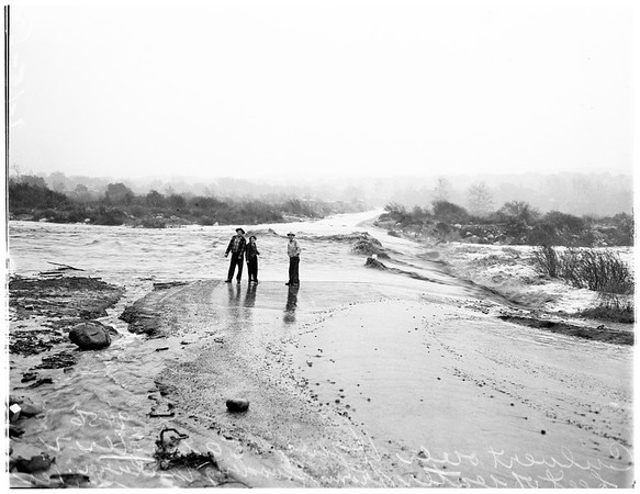 Flood in Ventura, 1952