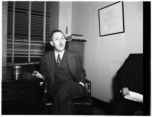Doctor Robert T. Oliver, 1952