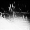 High water on Ramona Freeway (Freeway 10?), just West of Atlantic Boulevard, 1952