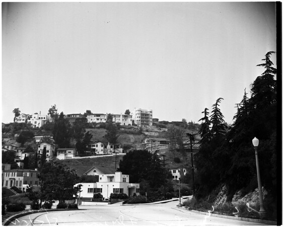 Low flying trial ...Silverlake area, 1952