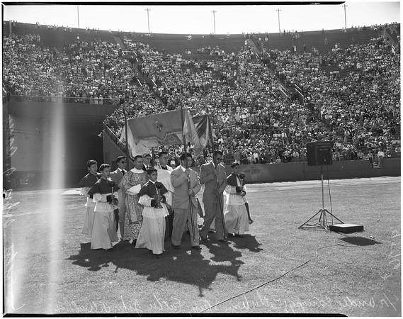 Mary's hour (Los Angeles Memorial Coliseum), 1952
