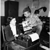 Junior City Editors in Burbank...Run own local paper, 1952