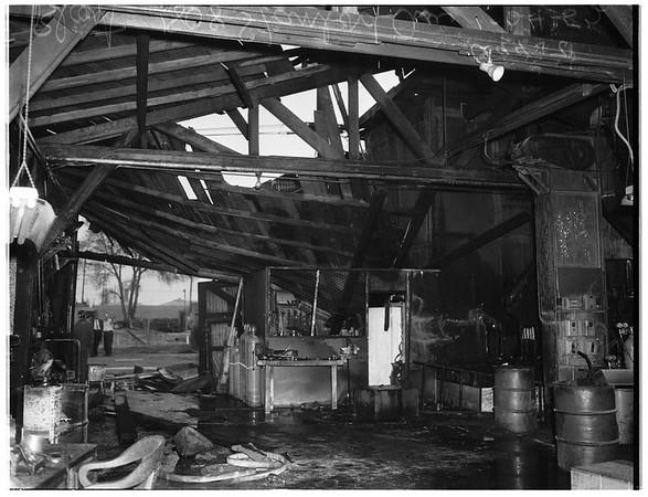 Explosion in Santa Monica, 1952