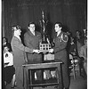 American Legion Blue Devil awards to Van Nuys High School Reserve Officers Training Corps, 1952