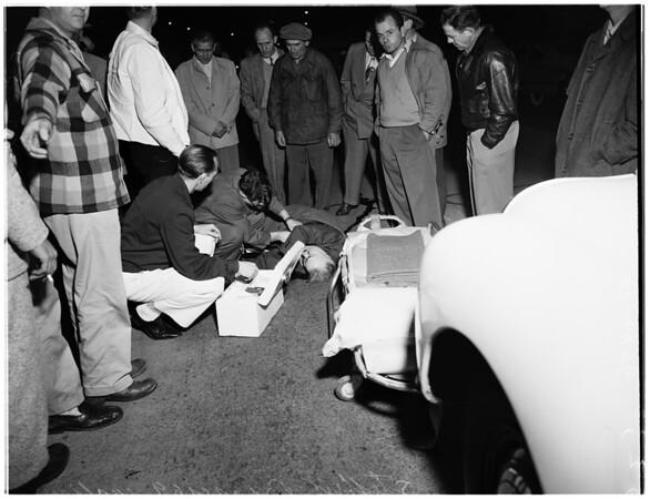 Traffic fatality (10000 West Pico Boulevard), 1952