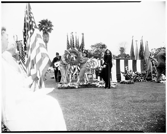Memorial Day (Santa Monica) Woodlawn Cemetery, 1952