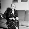 Doctor Lillian Gilbreth interview, 1952.