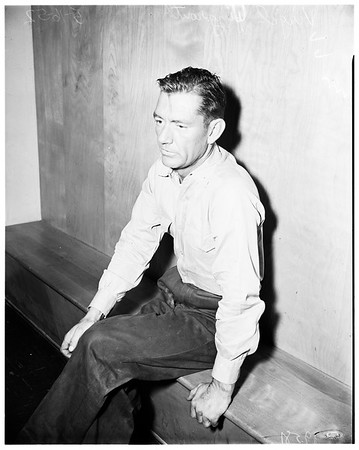 False stolen truck report, 1952