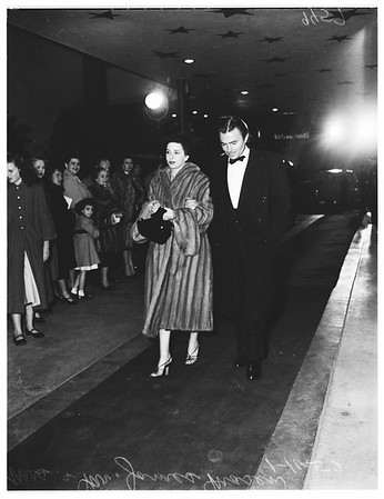 """Premiere of """"Pandora and the Flying Dutchman"""" (Egyptian Theatre), 1952"""