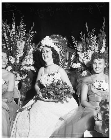 Burbank on parade queen, 1952.