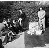 Sandra Woodruff funeral, 1952