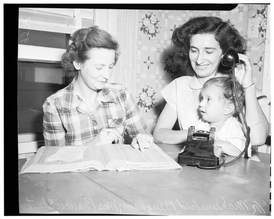 War brides, 1952.