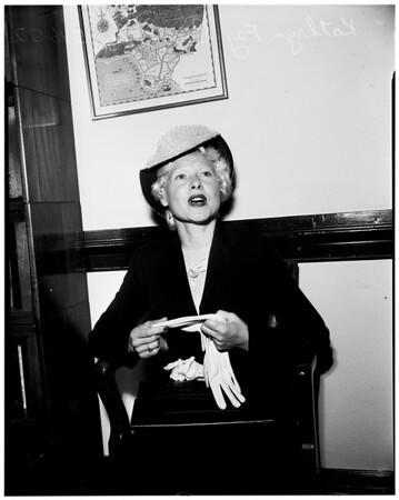 Baronello divorce, 1952.