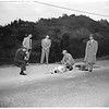 Baby body found (across from 3415 Coldwater Canyon Avenue), 1952