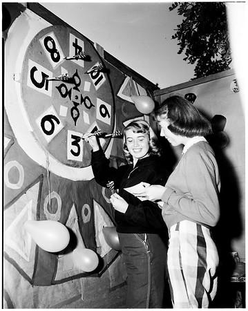 Pasadena City College carnival, 1952