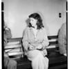 Bad check suspect, 1952