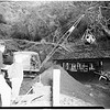 Flood damage repair at Benedict Canyon Drive ...damage at North Beverly Glen Boulevard, 1952