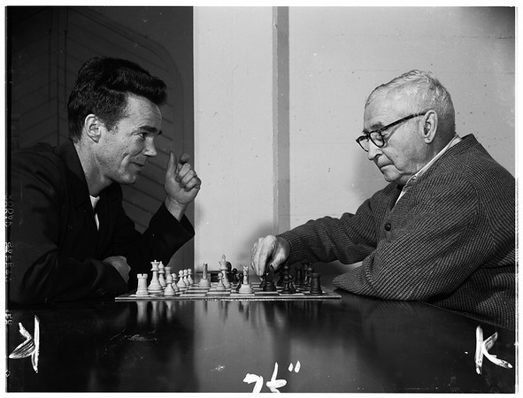 Chess Club, Monterey Park, 1952.