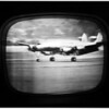 General Eisenhower  arrives in New York (TV screen), 1952