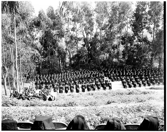 Graduation at Mount Saint Mary's, 1952