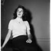 Cop's daughter, 1952
