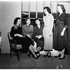 Juniors of League for crippled children ...Installation of officers at Ambassador Hotel, 1951