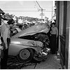 Accident... auto versus truck, 1952