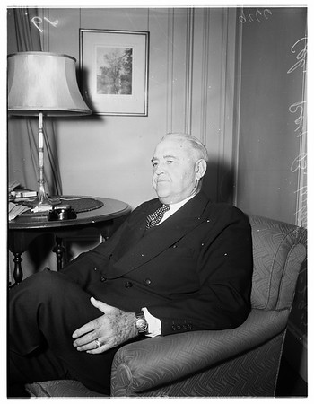 Interview at Biltmore Hotel, 1952