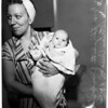 First girl born in family in ninety-nine years, 1952