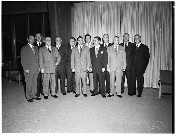 Ford interview (members of Ford Motor Company Board of Directors), 1952