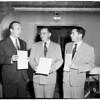 Cancer Society Awards, 1952
