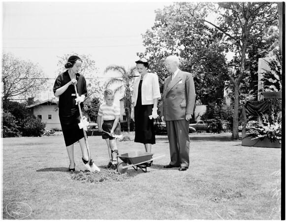 Orthopedic hospital, 1953