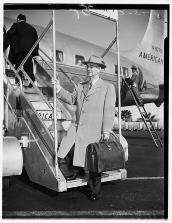 Governor Long of Hawaii, 1952