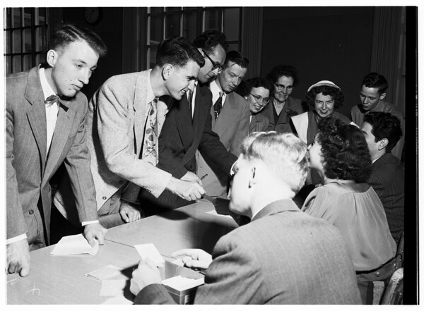 United Nations at University of Southern California, 1952