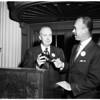 Electric club new president, 1952