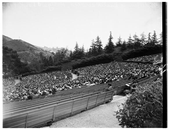 Easter Services (Hollywood Presbyterian Church), 1952