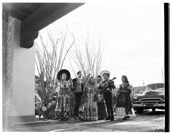 Queen of Calexico cavalcade, 1952