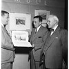 Huntington Library Friends (examine engravings on exhibit), 1952